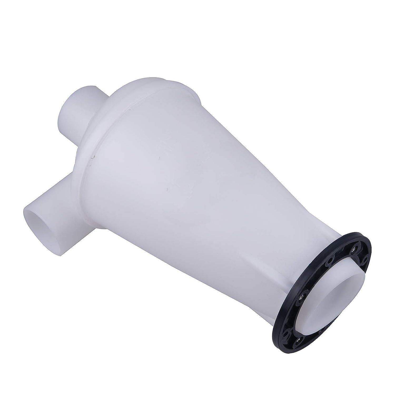 Negro con base Vinteky Separador Cicl/ónico Filtro Blanco//Negro