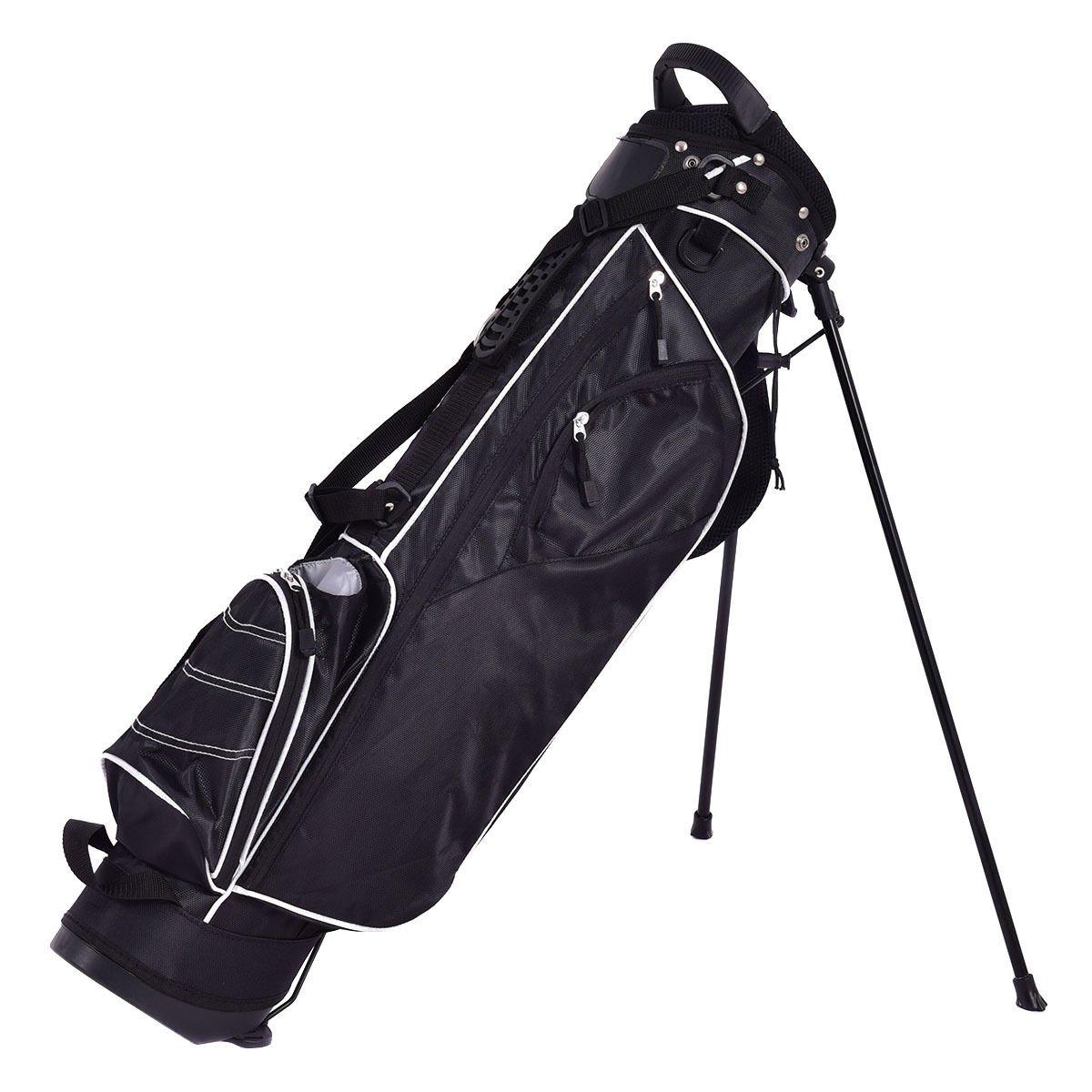 4 Way Divider Black Golf Stand Cart Bag