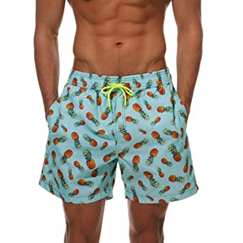 098c838cff Image Unavailable. Image not available for. Color: Easytoy Men's Dry Fit Performance  Swim Shorts with Pockets Swim Trunks Male Bathing Suits (Green