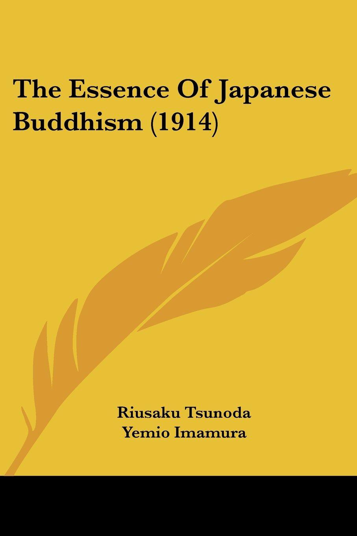 The Essence Of Japanese Buddhism (1914) pdf epub