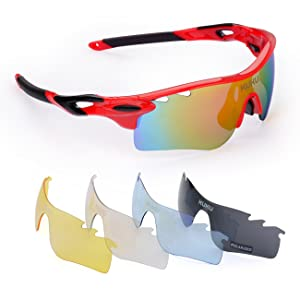 FiveBox Polarized U.V Protection Sports Glasses Lenses