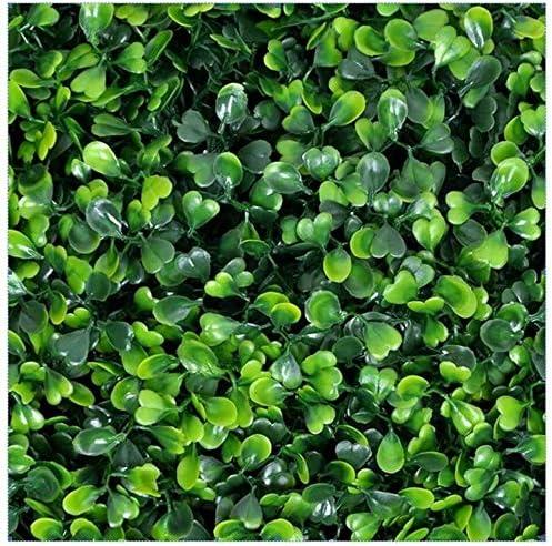 Paneles de setos de boj artificial Fondo de pared de proteccioacuten de rayos UV Reducir el ruido para la boda de jardín en el patio trasero: Amazon.es: Jardín