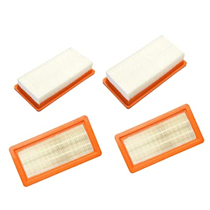 4pcs//set Flat Filter for Karcher DS5500 DS5600 DS5800 Vacuum Cleaner