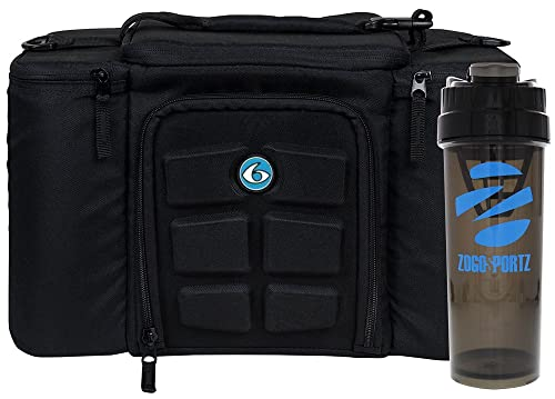 6 Pack Fitness Insulated Meal Prep Bag