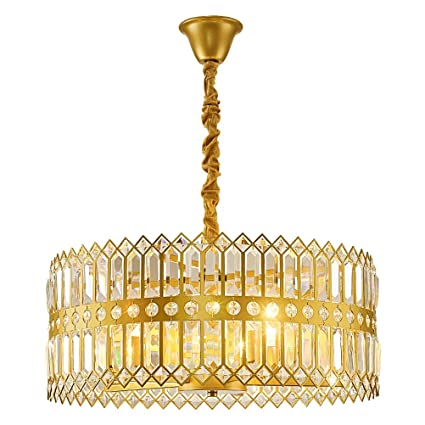 Amazon.com: Lámpara de techo posmoderna LED de cristal ...