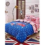 BENBU Modern bedding Cars print duvet cover Sets 100% Cotton Bedding Set Queen/Double/Full Size , queen
