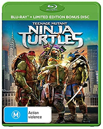 Amazon.com: Teenage Mutant Ninja Turtles 2Disc: William ...