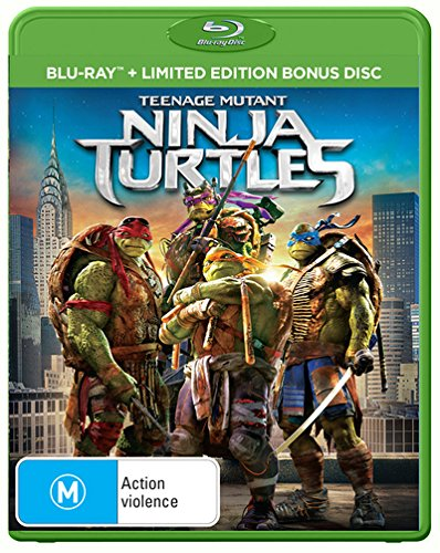 Teenage Mutant Ninja Turtles Edizione: Australia Italia Blu ...