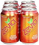 Zevia Natural Orange Soda, Sugar Free, 12 oz, 6 pack