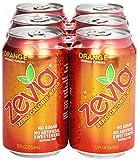 zero calories soda - Zevia Natural Orange Soda, Sugar Free, 12 oz, 6 pack