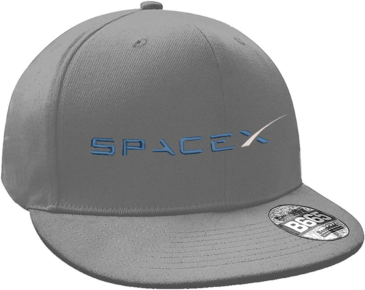 TeeIsland SpaceX Embroidered Snapback