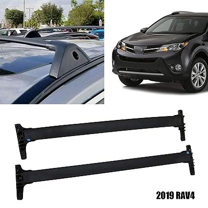 1a00f331ea3d Amazon.com: Yeeoy Aluminum Top Roof Rack Fit 2019 Toyota RAV4 Cross ...