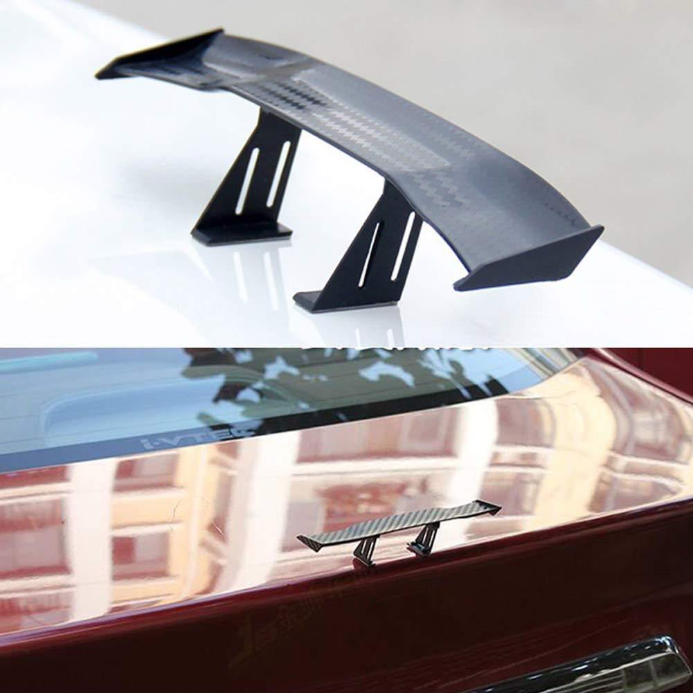 SayHia Spoiler Decorativo in Fibra di Carbonio per Ala Mini Spoiler Automatico per Auto