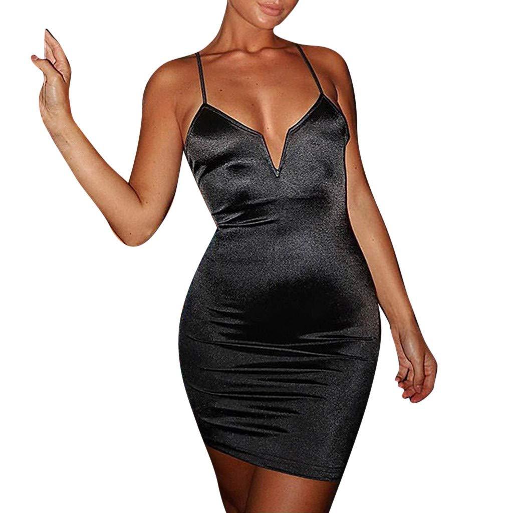 Kleid Kleid Party Kleider A Linie Damen, Sommerkleid Elegant Strandkleider Chiffon Minikleid Blumen Abendkleider Curvy