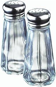 Lifetime Hoan Lifetime Brands Salt & Pepper Set 3 Oz Clear Glass Pack of 1