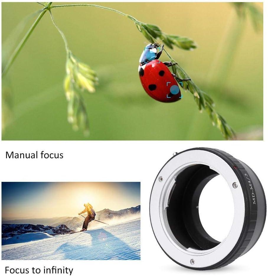 Yoidesu Lens Mount Adapter,Manual Focus Lens Mount Adapter Ring for Contax//Yachica CY//YC Lens to Fuji FX Camera
