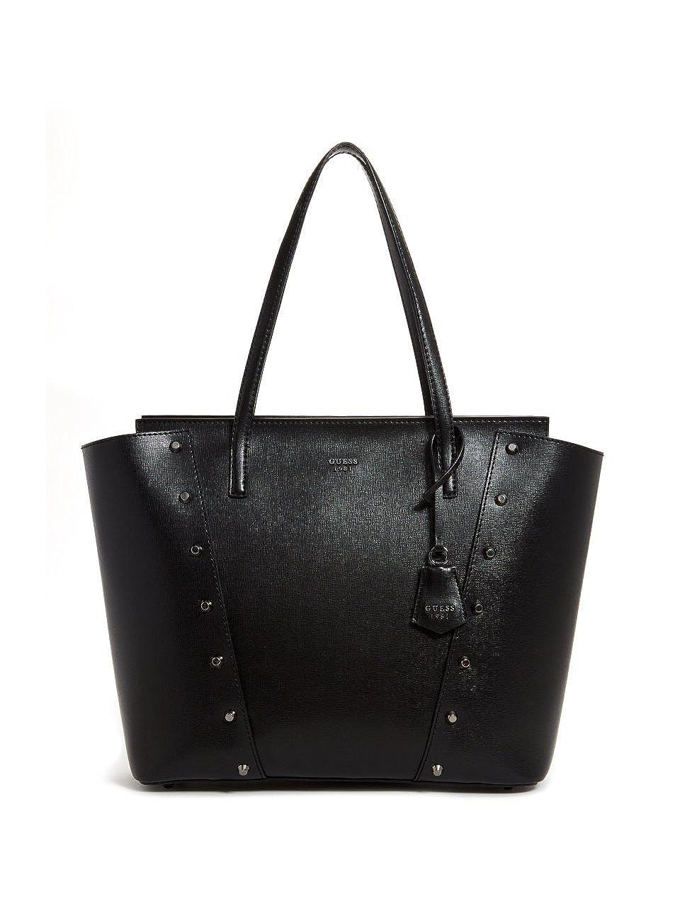 5d187741a9 Amazon.com  Guess Kaia Ladies Large PU Leather Tote Handbag VM685923BLA   Watches