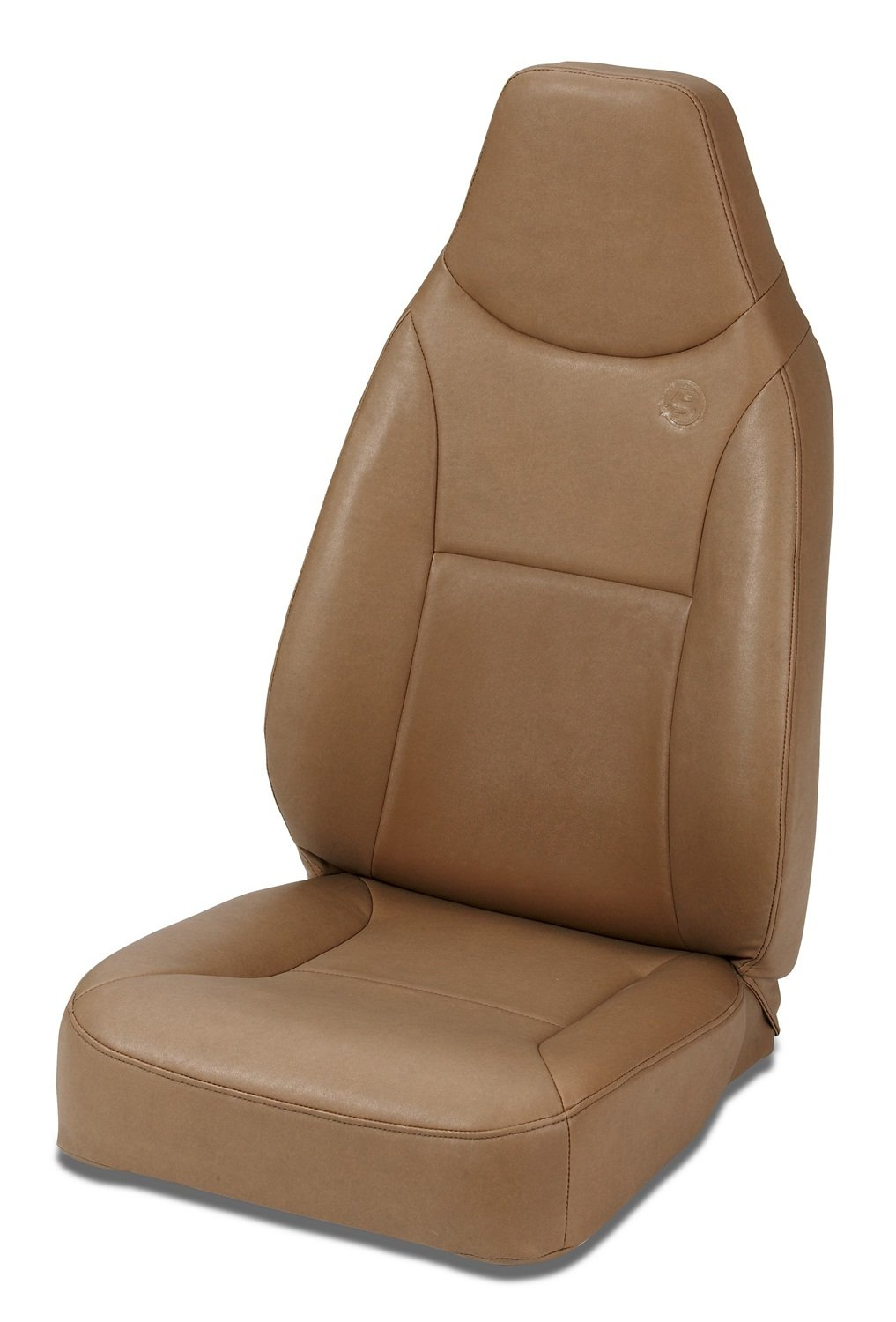 Bestop 39436-37 TrailMax II Spice Front High Back Vinyl All-Vinyl Single Jeep Seat for 1976-2006 Jeep CJ and Wrangler