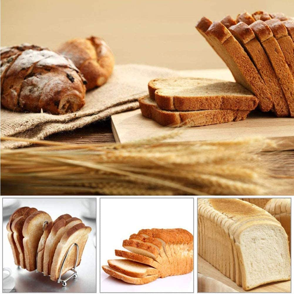 Baguette Baking Tray Toast Oven Tray Non-Stick Perforated Bread Pan Baguette Mold Baking for Baking Molds Pan for Home Kitchen Black