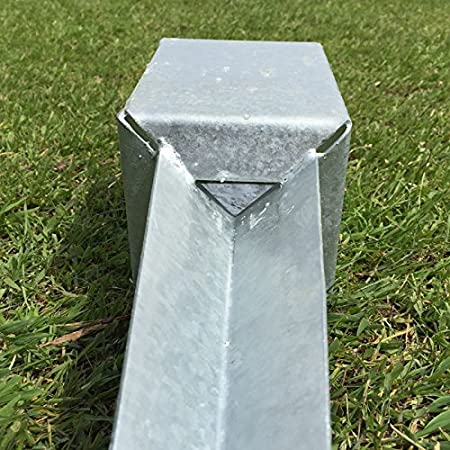6 Heavy Duty Galvanised fence post spikes by fencepostspikes uk