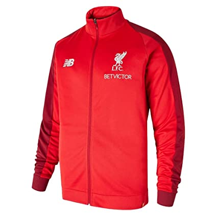 New Balance 2018-2019 Liverpool Mens Presentation Jacket (Red)