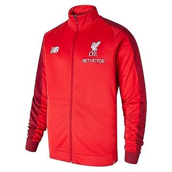 New Balance 2018-2019 Liverpool Mens Presentation Jacket (Red): Amazon.es: Deportes y aire libre