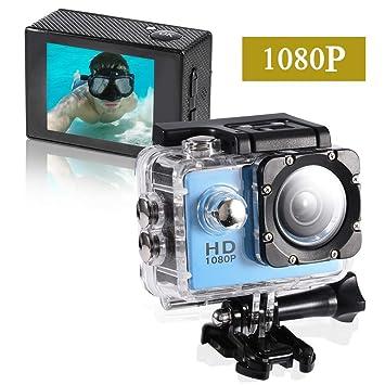 Dreamsbox Cámara Deportiva,1080p Full HD Action Camera, Camara de ...