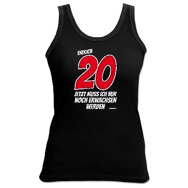 Damen Tank Top Zum 20 Geburtstag Geschenk Madchen Armellose Shirt T