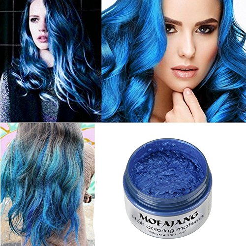 Petansy Hair Dye Wax Natural Hair Wax Disposable Hair Styling Instant Hair Color Hairstyle Coloring Wax by Petansy