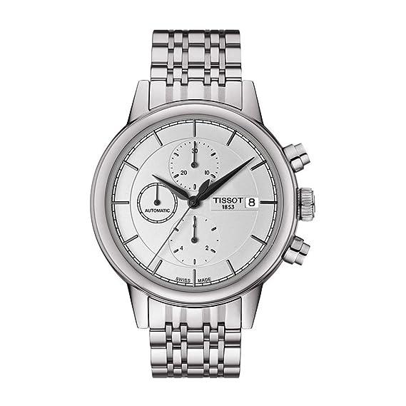 Tissot Reloj Cronógrafo para Hombre de Automático con Correa en Acero Inoxidable T085.427.11.