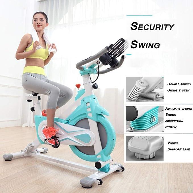 Bicicleta estática, Pedal de reducción de peso de bicicleta de ejercicios, ultra silencioso Familia Sala de ejercicios Equipo de bicicletas, para la pérdida de peso y condición física.: Amazon.es: Salud y cuidado