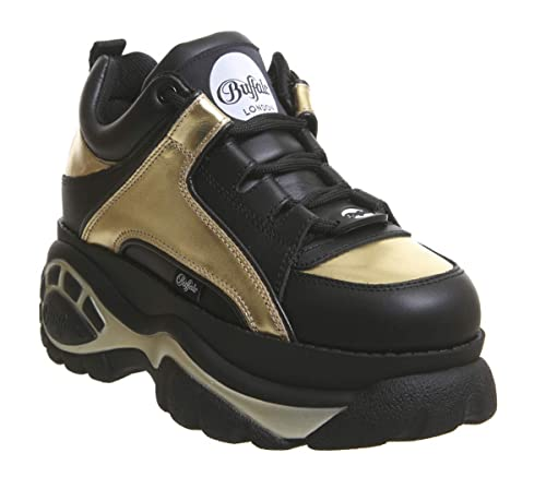 reputable site d8a2c c6fc3 Buffalo 1339-14 2.0 Damen Sneaker Schwarz: Amazon.de: Schuhe ...