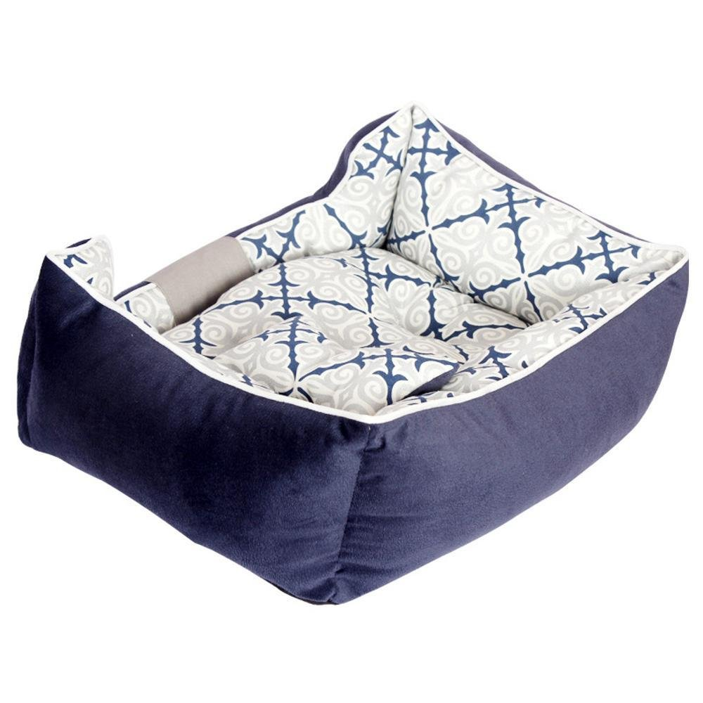 BiuTeFang Pet Bolster Dog Bed Comfort Cloth type thickening durable soft comfortable kennel cat nest