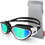 Swimming Goggles, ZIONOR G1 Polarized Swim Goggles UV Protection Watertight Anti-Fog Comfort fit for Unisex Adult Men Women