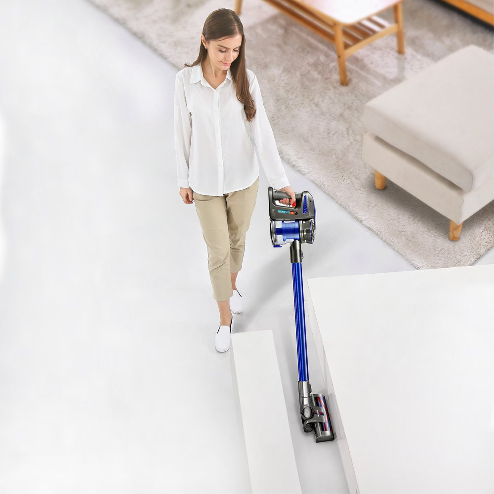 Proscenic P8 Vacuum Cleaner,Lightweight Stick Vacuum Cordless,Battery Rechargeable,Two Speeds Suction Power, Detachable Bagless Handheld Vacuum for Family and Car Cleaning by Proscenic (Image #3)