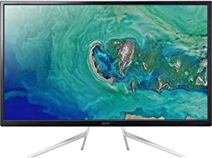 "Acer ET322QU 32""(31.5"" viewable) Black Freesync 75Hz LED IPS Monitor 2560x1440 Widescreen 16:9 4ms Response Time 250 cd/m2 1000:1 DisplayPort, HDMI, VGA, Speakers"