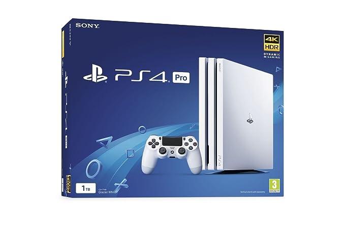 PS4 PRO Blanca 1Tb - Playstation 4 PRO: Amazon.es: Videojuegos