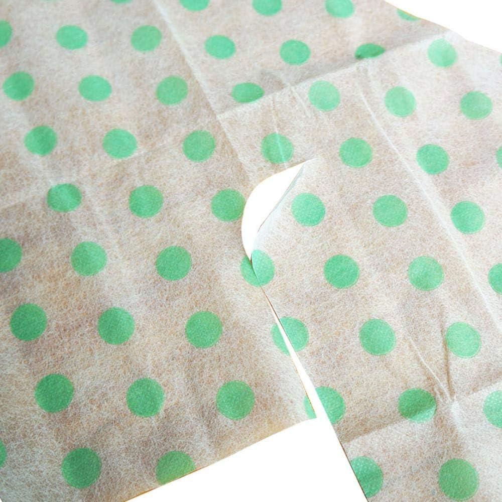 di grandi dimensioni Coprisedile per WC usa e getta in confezione singola con adesivo antiscivolo Confezione da 10 Green