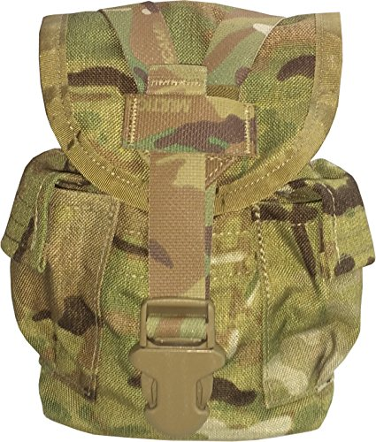 Fire Force 8907 Military MOLLE II Canteen Utility Pouch Made in USA (Multi Cam) ()