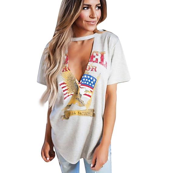 Naturazy Camiseta con Capucha Medio Blancas Deportes Basicas Moda SuéTer Camiseta De Estilo Vintage Rock Style