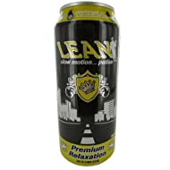 Lean Slow Motion Potion Premium Relaxation Beverage 24 Cans (Yella)