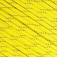 Fluorescent Reflective 550 Type III Guyline Tent Rope Camping Survival Cord High-Visibility Paracord- Rot and