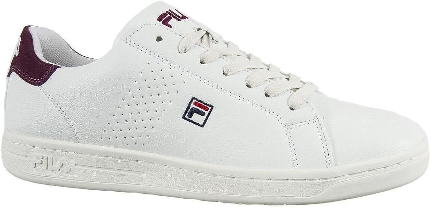 Fila 2 Baskets 1010276 Mode Blanc F 47 Crosscourt Low 3RL54Aj