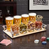 Oakmont Personalized Appetizer and Drink Serving Set - Custom Gifts, Housewarming, Cocktail Party