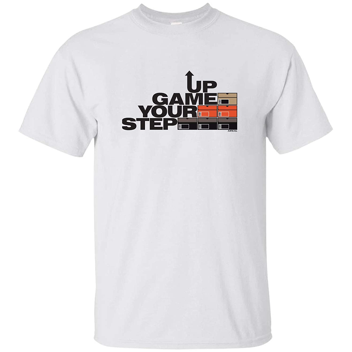 Step Your Game Up Sneakerhead By Aireal Apparel For Men Women Unisex Shirts