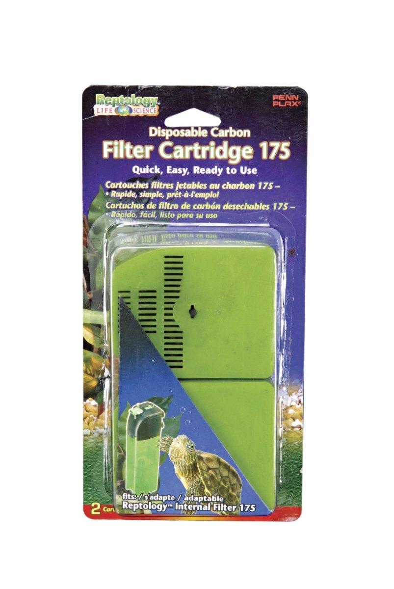 Penn Plax Reptology 9.25 in. Internal Filter Replacement Cartridges