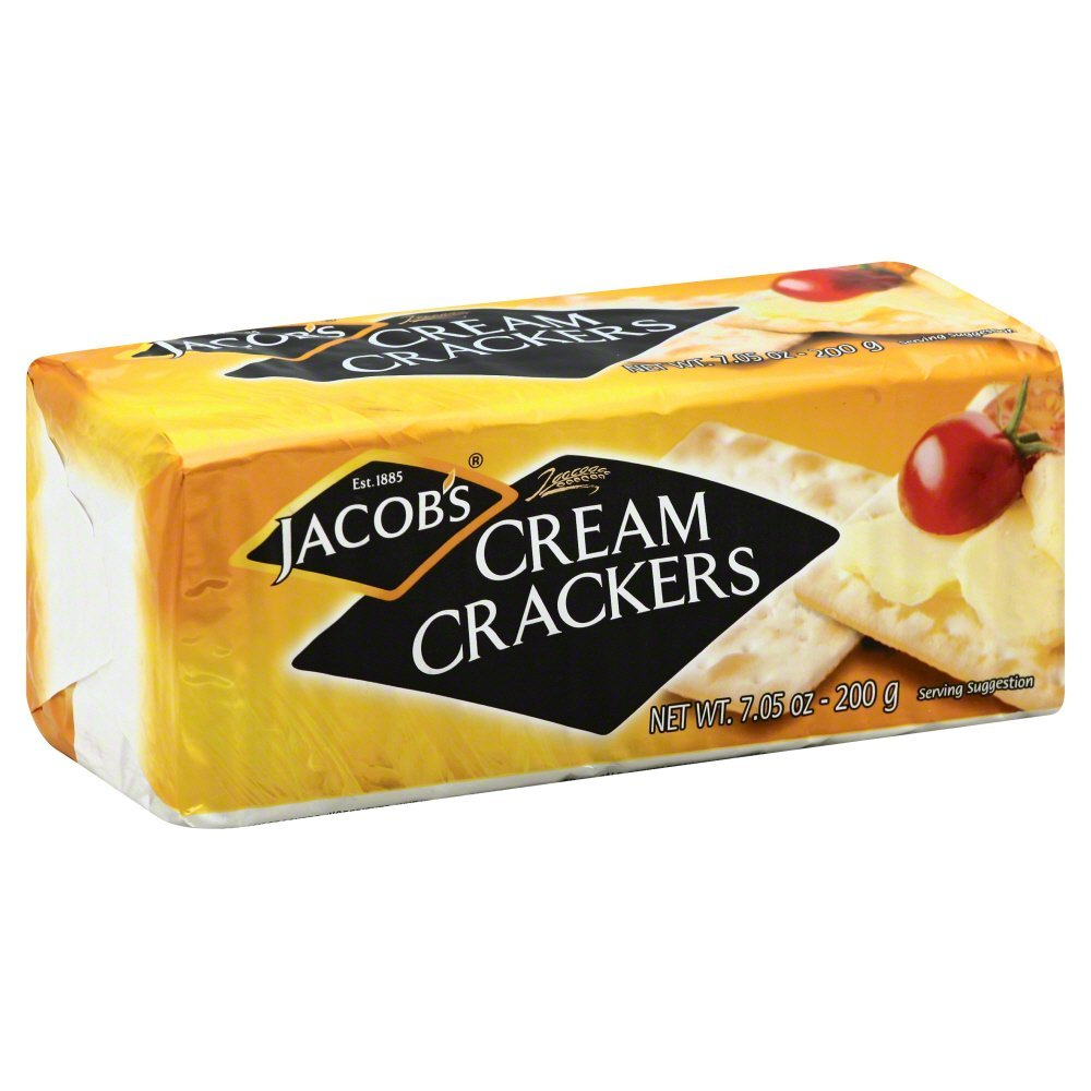 Jacobs Cream Cracker, 7.05 Ounce - 24 per case. by Jacobs (Image #1)