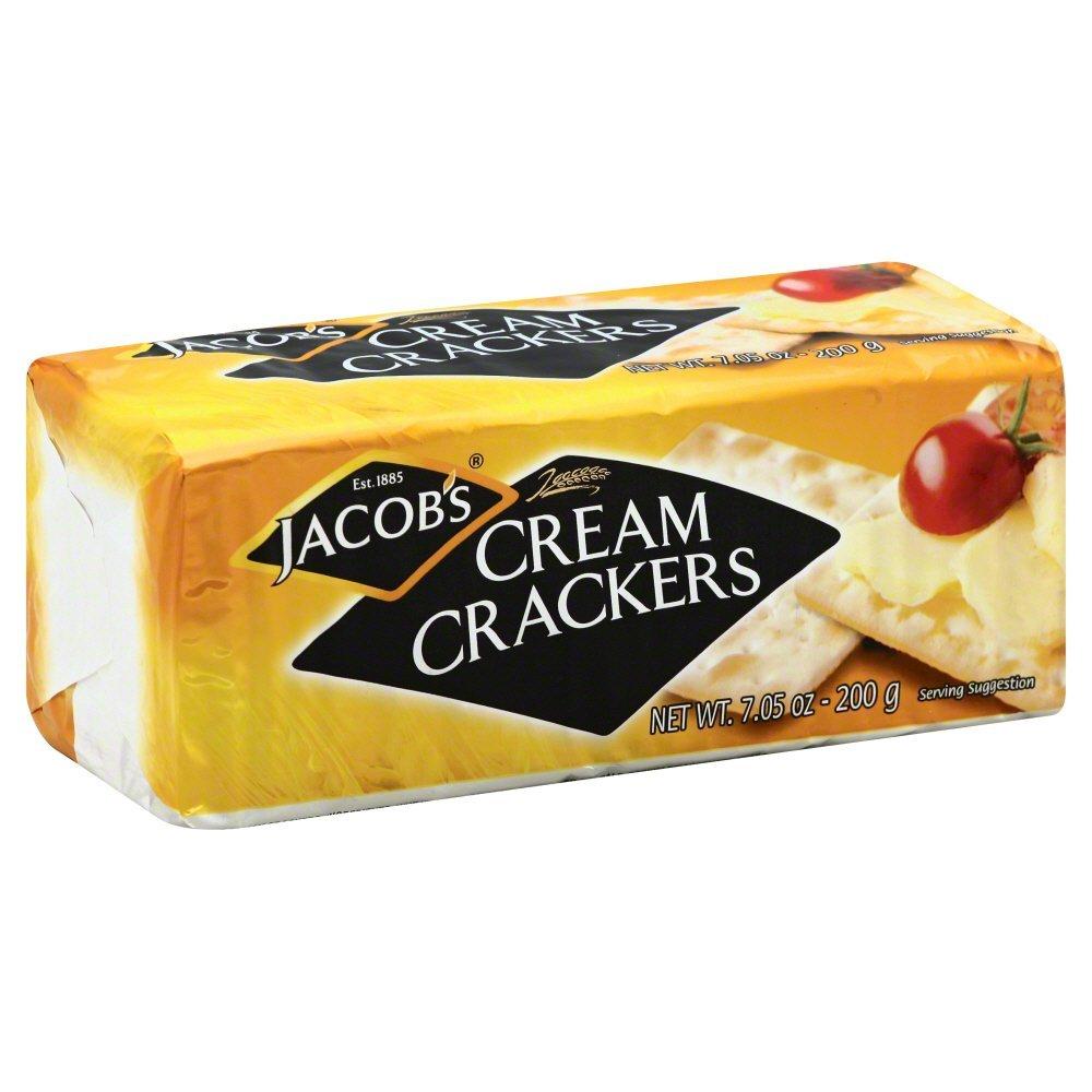 Jacobs Cream Cracker, 7.05 Ounce - 24 per case.