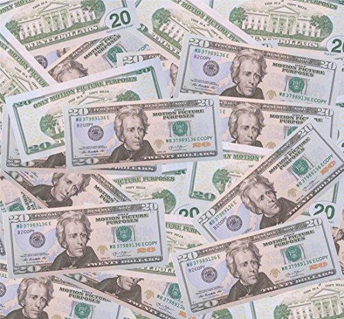 $20X100 Pcs Total $2,000 Dollar Copy Bills Magic Props Money (2000 Dollars)
