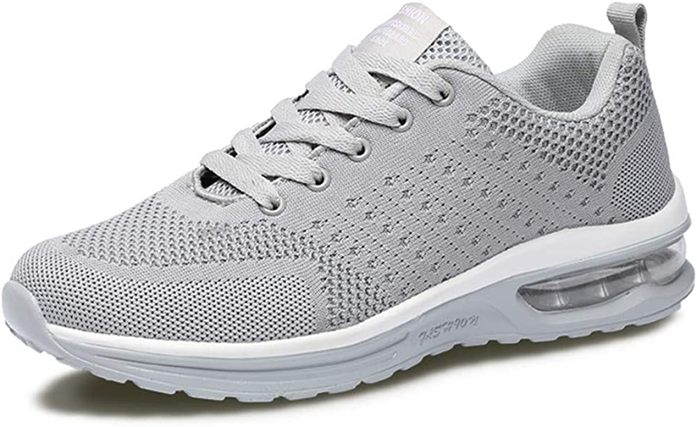 Fexkean Mens Womens Sneakers Sports Shoes Trainers Running Athletic Walk Gym Fashion Mesh Outdoor Shoes